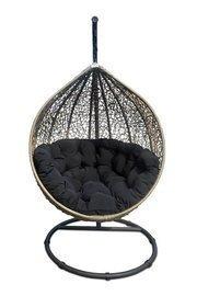 Miloo :: Fotel wiszący Cocoon beżowo-czarny